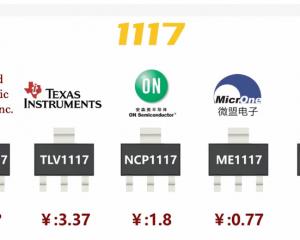 几种常见的1117类型的LDO的性能对比测试