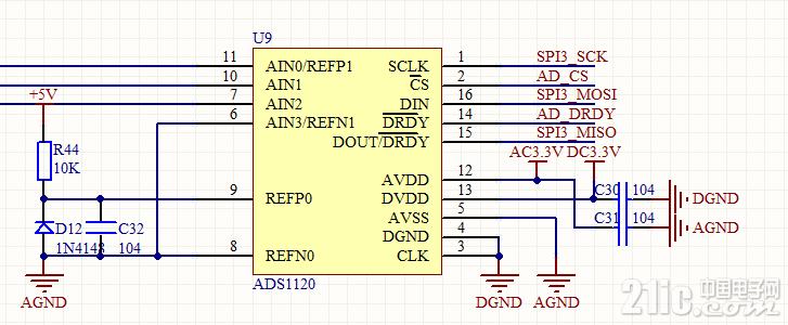 ADS1120图